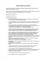 Compte rendu du Conseil Municipal du 03/02/2020