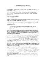 compte rendu du Conseil Municipal du 28-05-2020